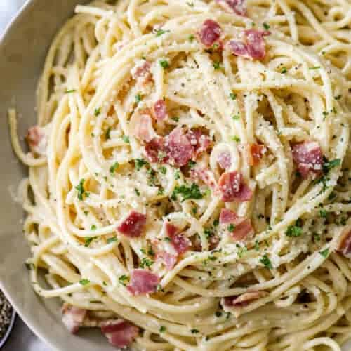 Spaghetti Carbonara Quick Easy Spend With Pennies