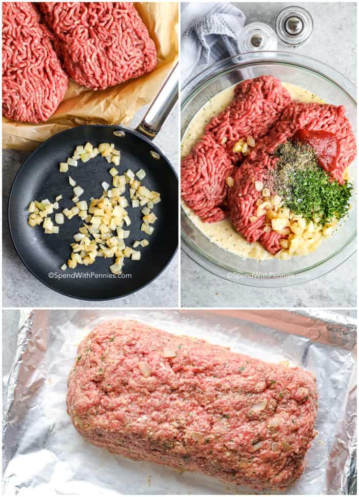 steps for making meatloaf