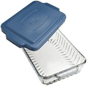 9x13 glass pan with lid