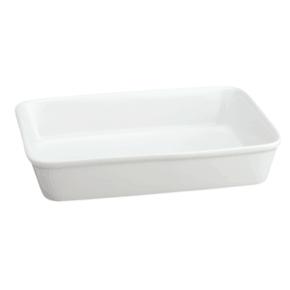 white Casserole Dish