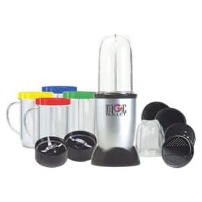 Magic Bullet with jars and accessories
