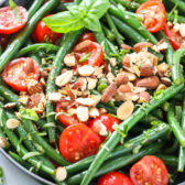 Green Bean Salad with tomatoes