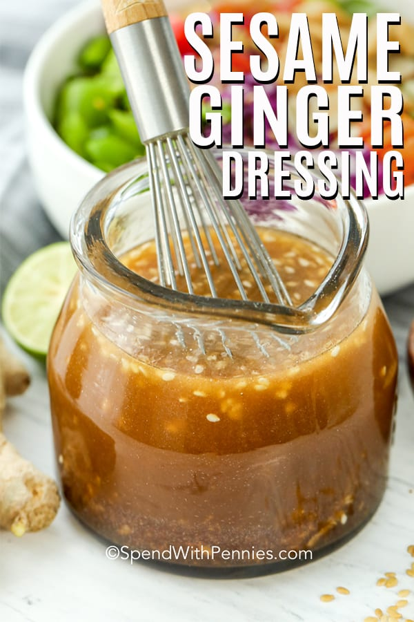Sesame Ginger Dressing Spend With Pennies