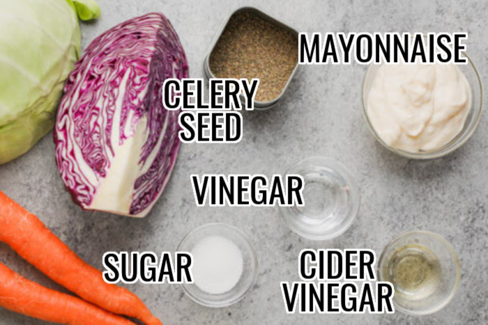 The Best Coleslaw Dressing Ingredients