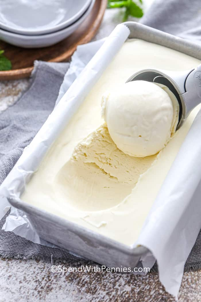 3 Ingredient No Churn Ice Cream (Basic