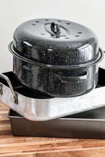 3 types of roasting pans