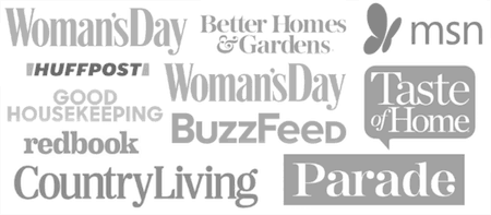 As Seen In: Woman's Day, MSN, Huffpost, and others.