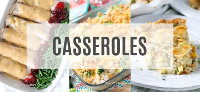 A collection of leftover turkey casserole recipes