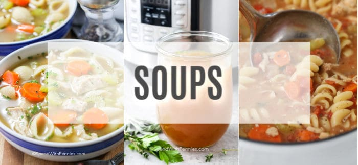 A collection of leftover turkey soup recipes