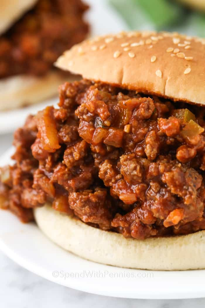 Easy Sloppy Joes 30 Minute Meal Spend With Pennies