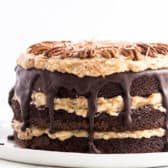 german chocolate cake whole