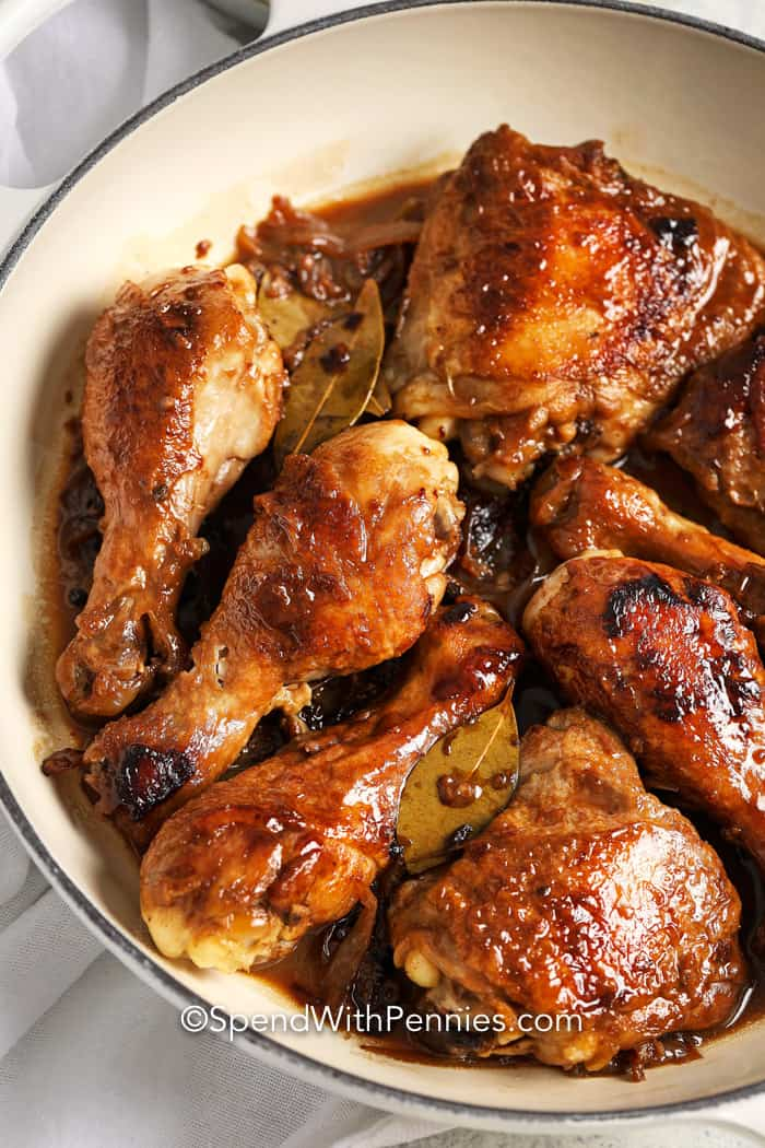 Easy Chicken Adobo Full Of Flavor Spend With Pennies