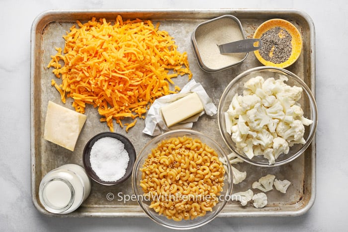 cauliflower mac and cheese ingredients