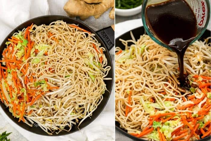 Easy Homemade Chow Mein With Homemade Sauce Spend With Pennies
