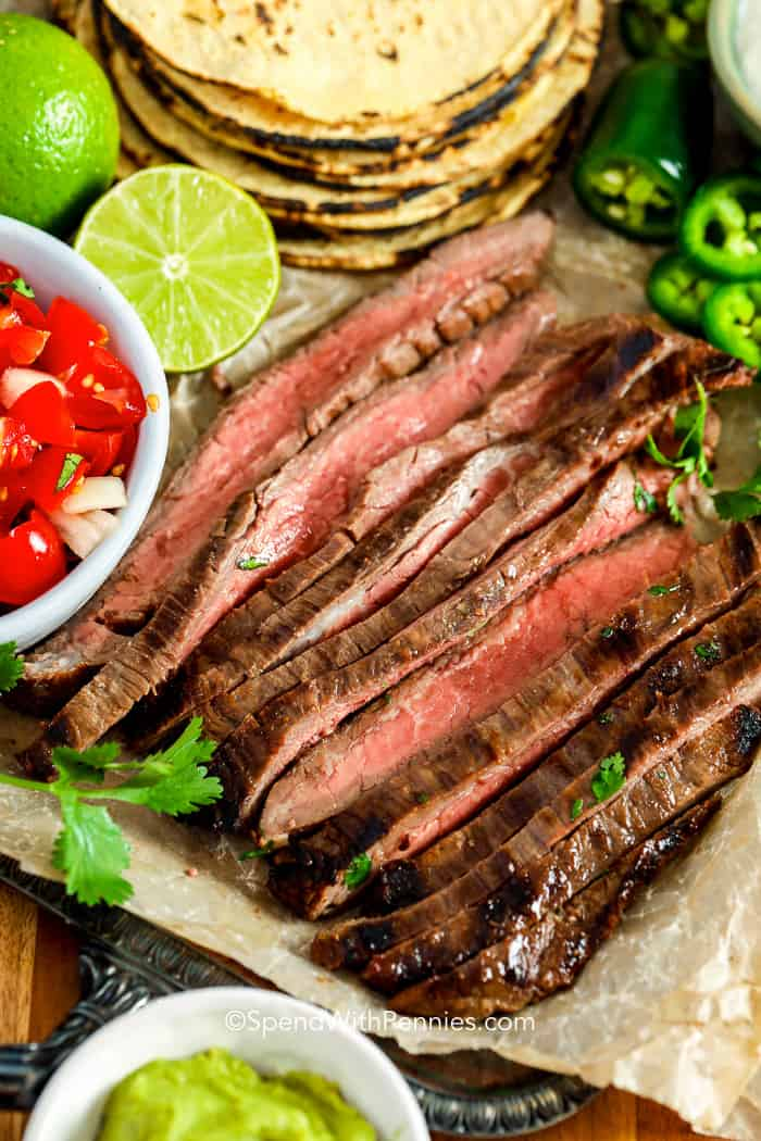 Carne Asada close up