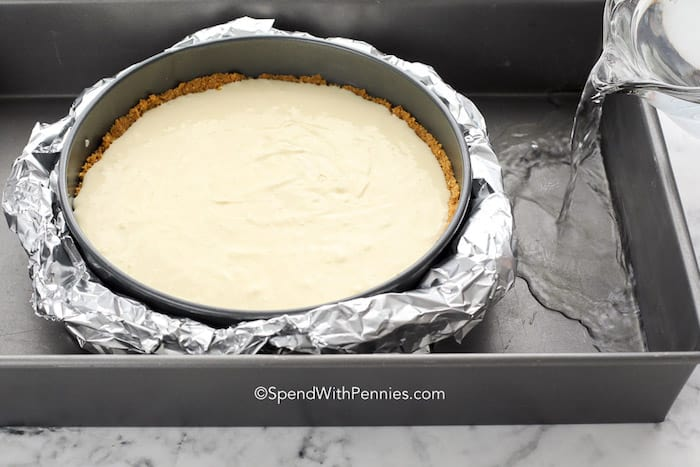 Easy Homemade Cheesecake steps