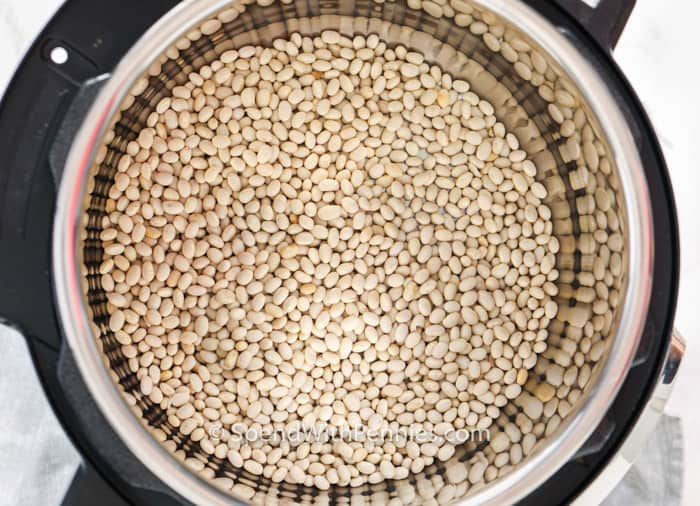 Dried beans in Instant Pot