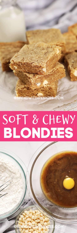 Soft & Chewy Blondies