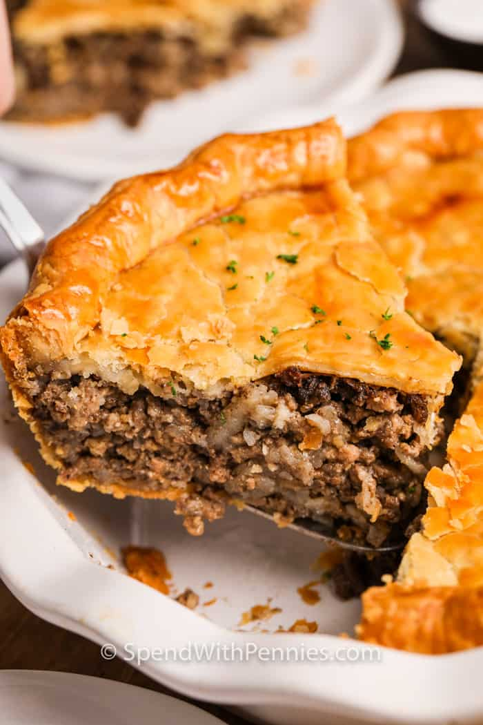 Tourtiere Meat Pie Spend With Pennies
