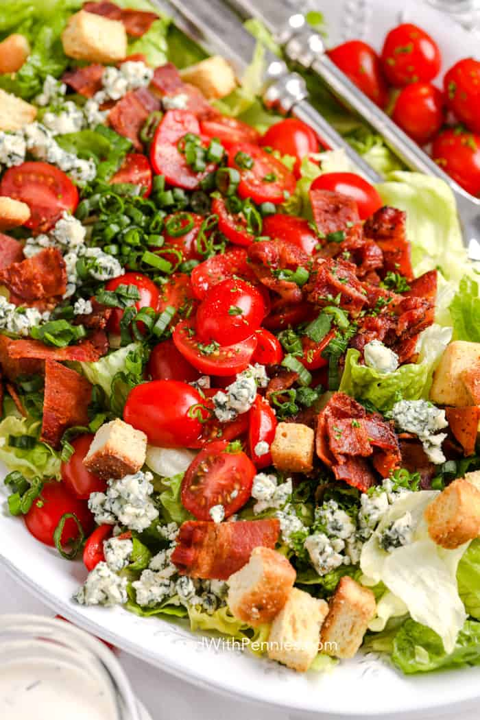 Prepared BLT Salad