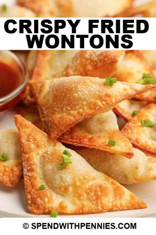 Fried Wontons with title