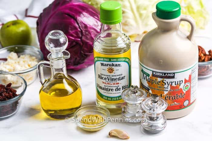 ingredients to make Cabbage Salad