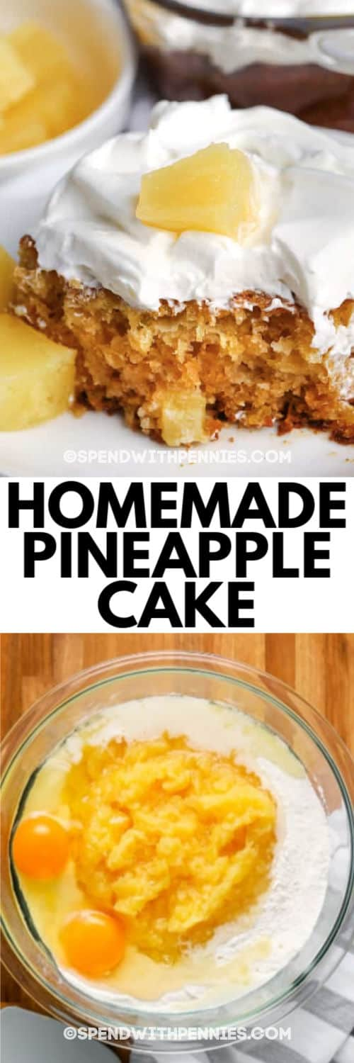 Easiest Ever Pineapple Cake Only 5 Ingredients Spend With Pennies