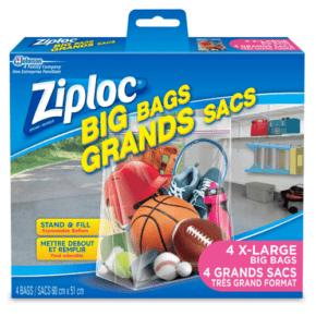 XL Ziploc Bags