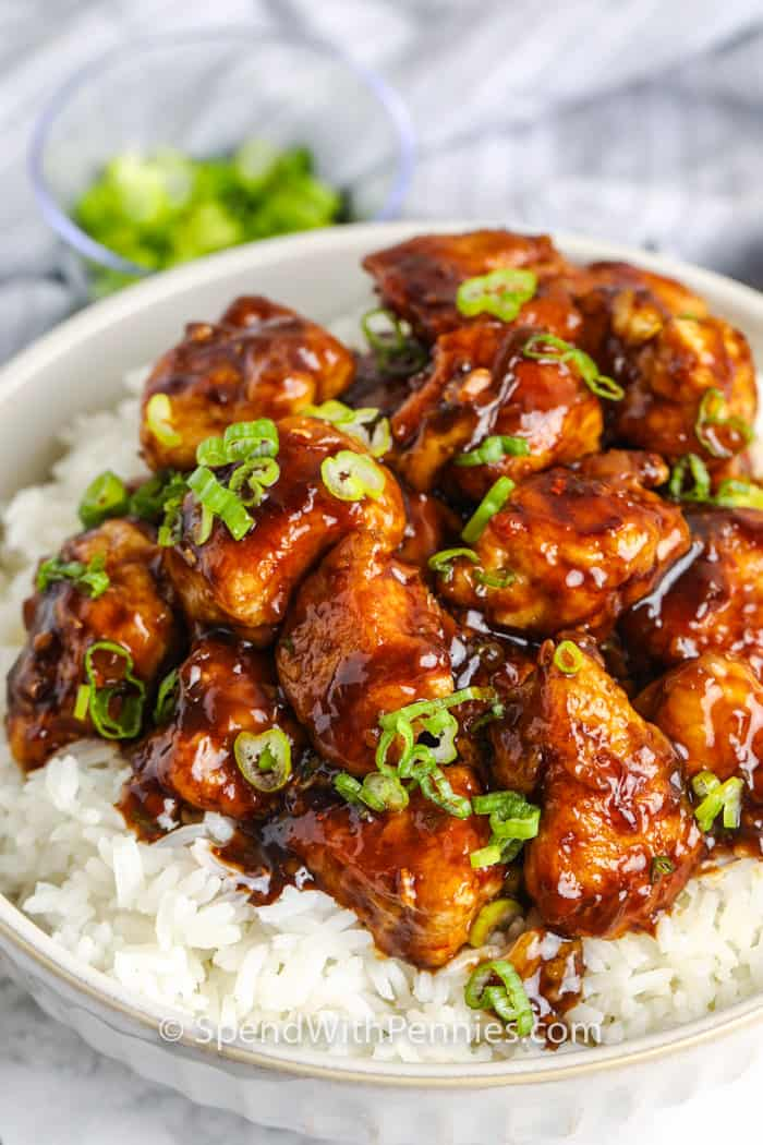 General Tso S Chicken Easy To Make Spend With Pennies