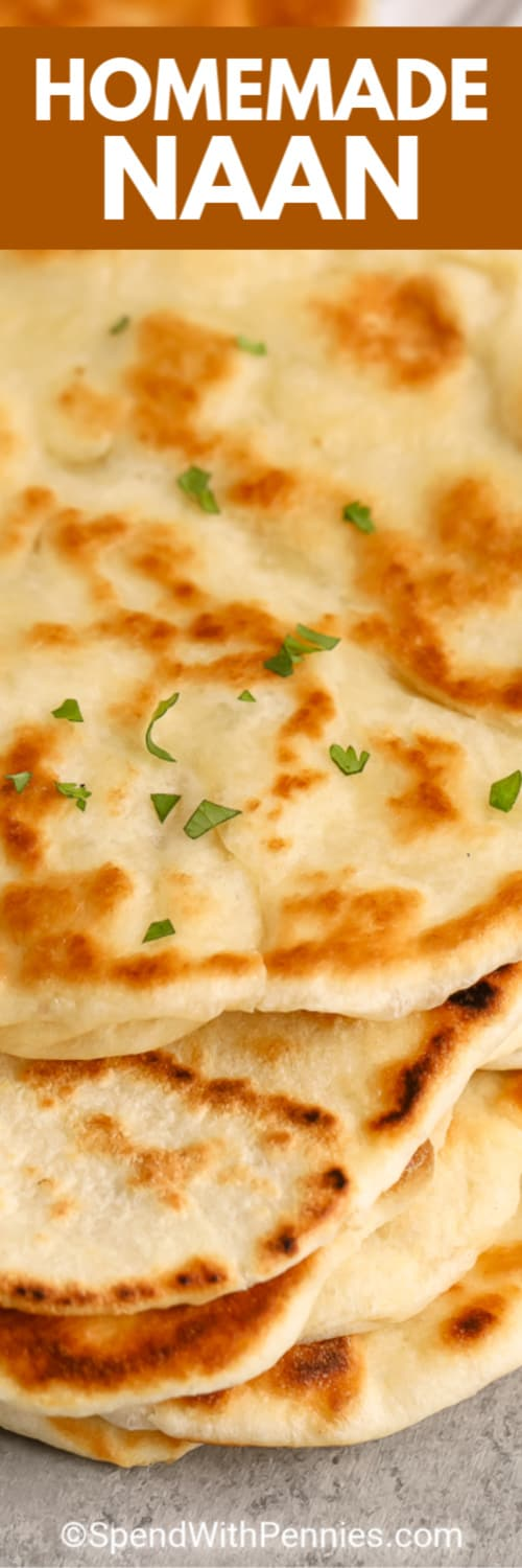 Naan Bread Easy To Make Spend With Pennies