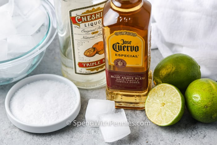 ingredients to make a Margarita