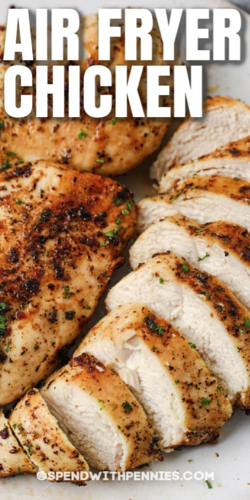 Air Fryer Chicken Breasts (From Fresh or Frozen!) - Easy ...