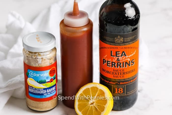 ingredients to make Cocktail Sauce