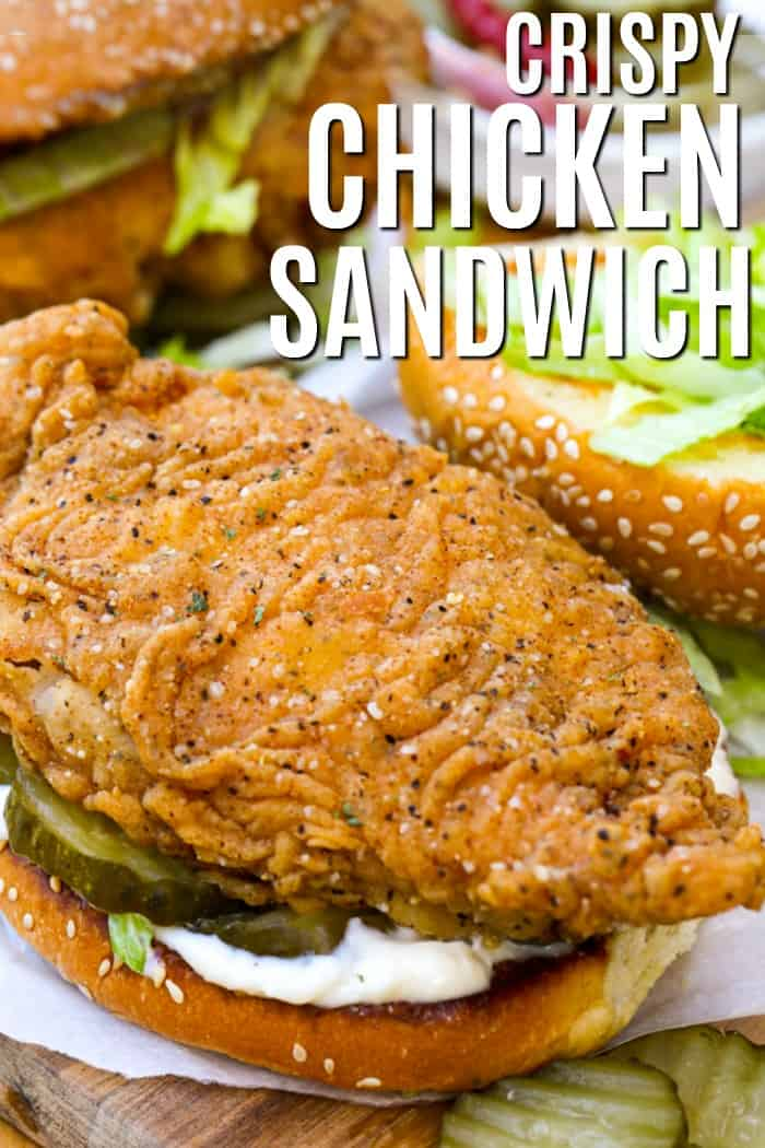 Crispy Chicken Sandwich Spend With Pennies