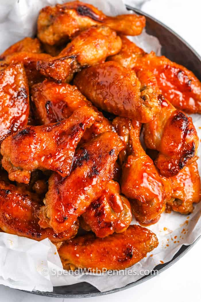 Hot Chicken Wings Recipe Perfect For Game Day Spend With Pennies