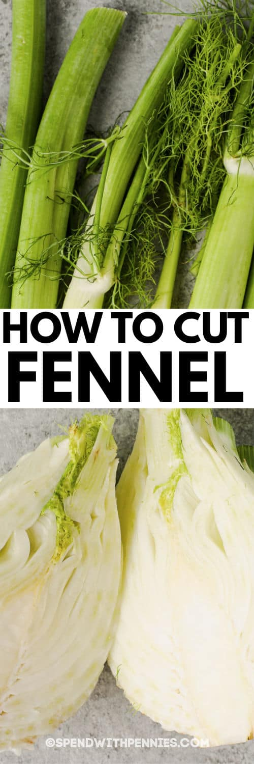 cut up fennel to show How to Cut Fennel
