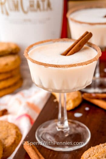glasses of Snickerdoodle Cocktail