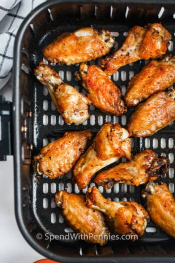 cooking Air Fryer Chicken Wings