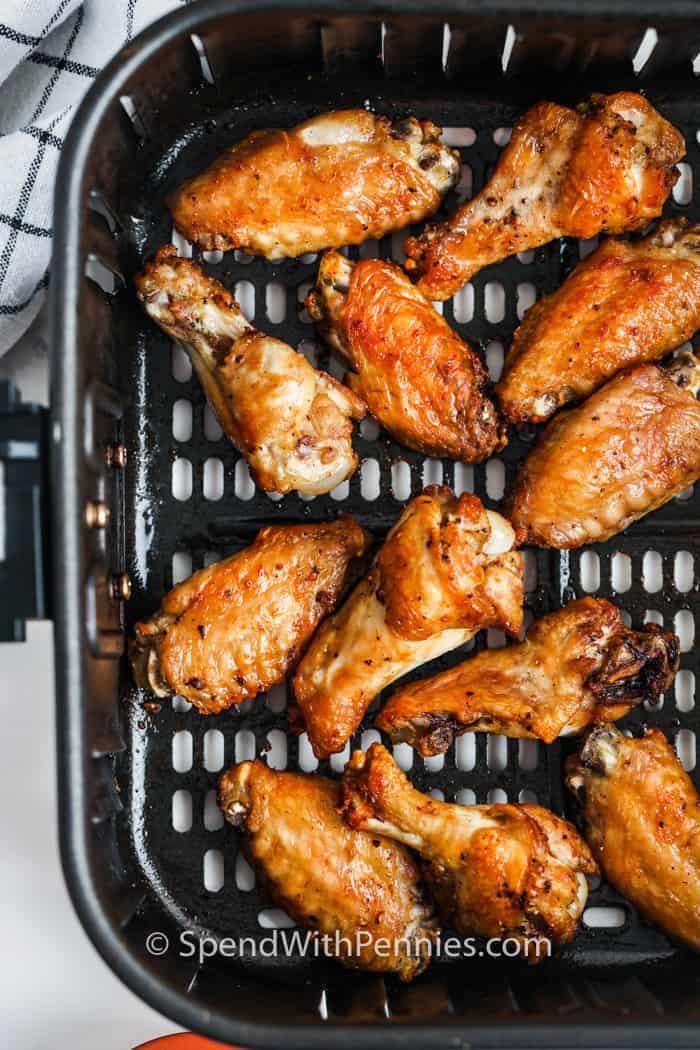 cooking Air Fryer Chicken Wings