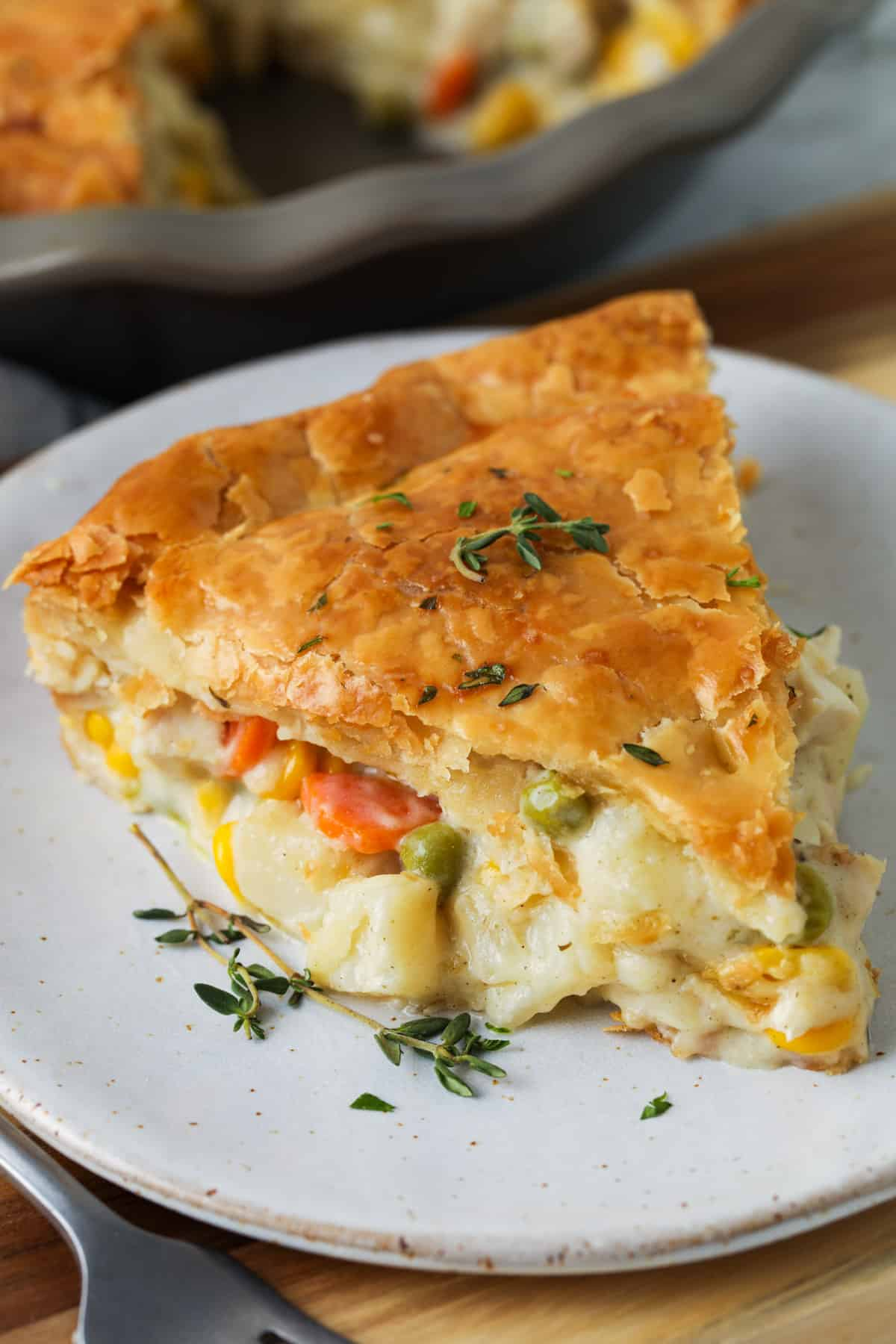 Homemade Chicken Pot Pie With Puff Pastry Spend With Pennies