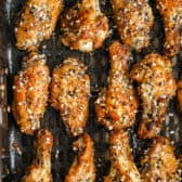 Everything Air Fryer Wings in the air fryer