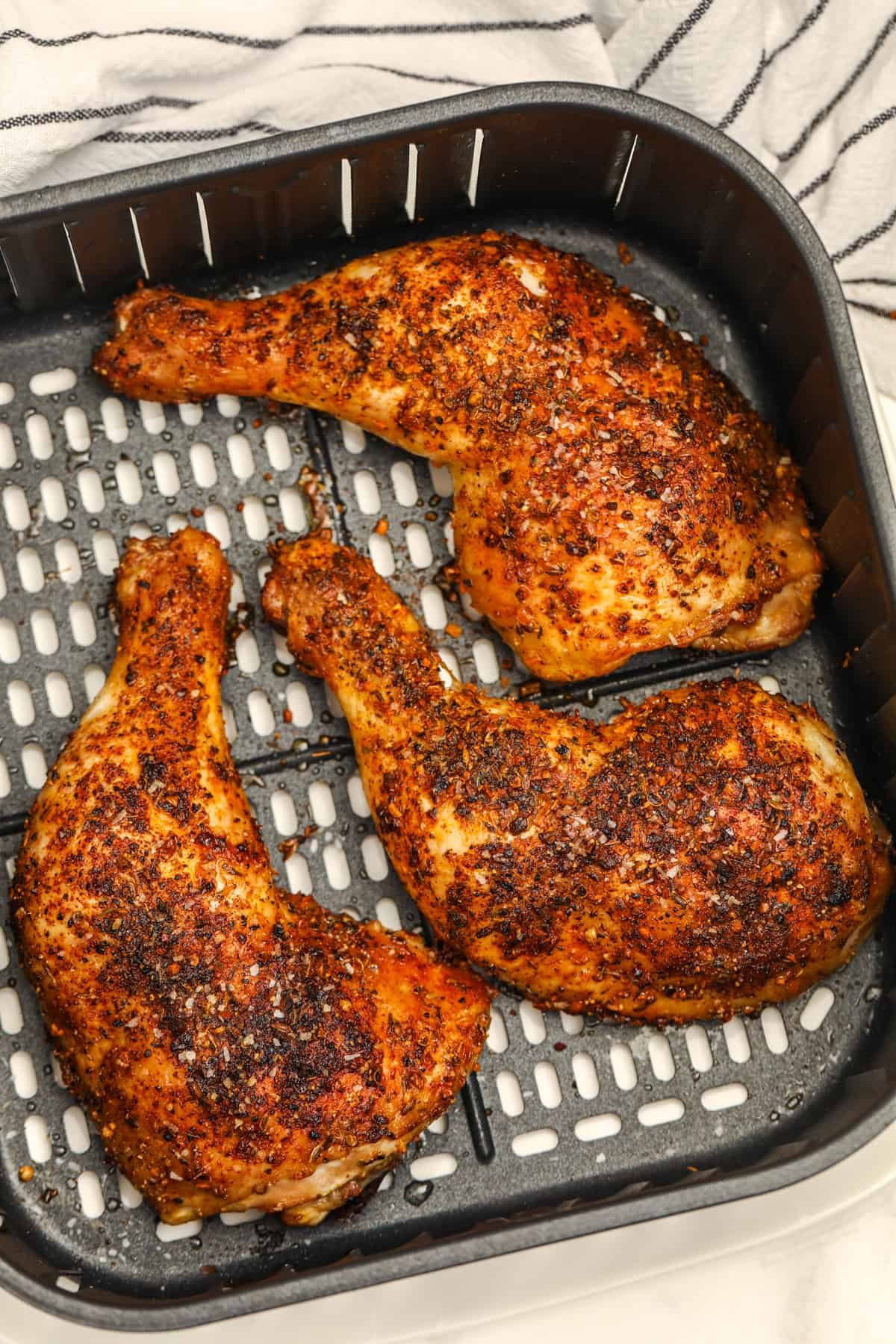 Air Fryer Chicken Legs From Fresh Or Frozen Spend With Pennies