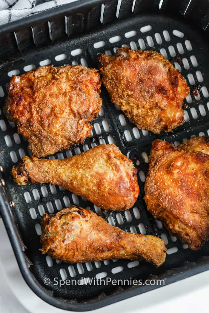 Air Fryer Fried Chicken in the air fryer