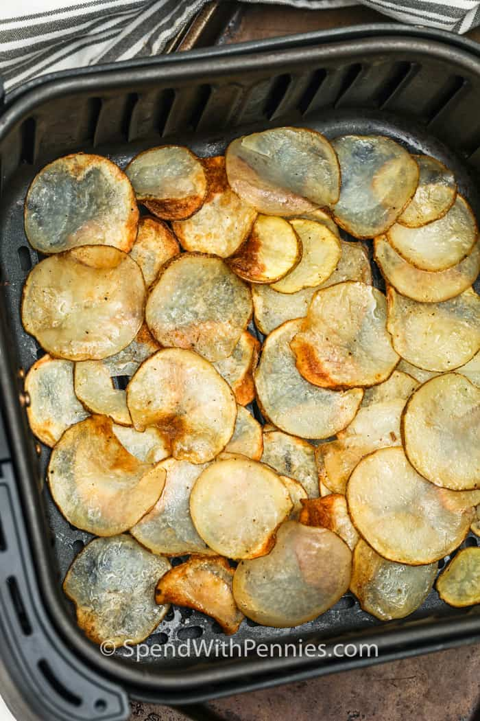cooking Air Fryer Potato Chips