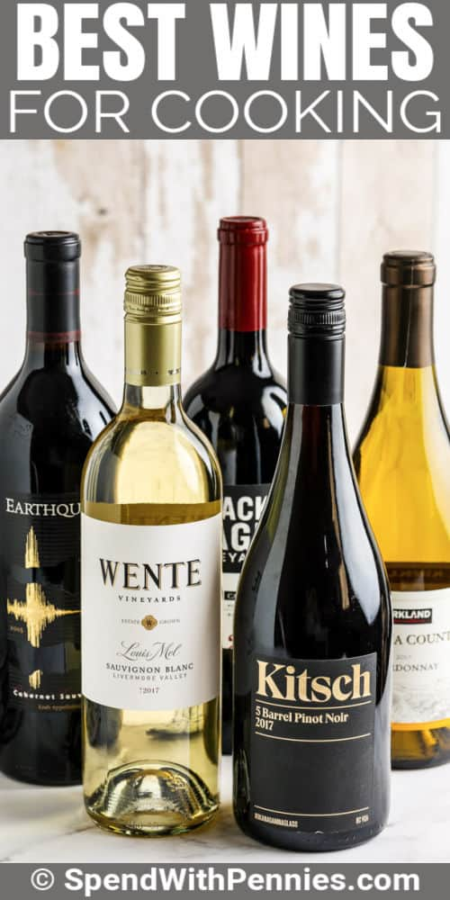 Best Wines for Cooking with a title