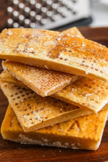pile of Parmesan Rinds