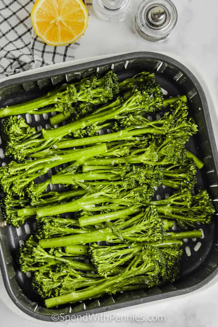 broccolini in the air fryer to make Air Fryer Broccolini