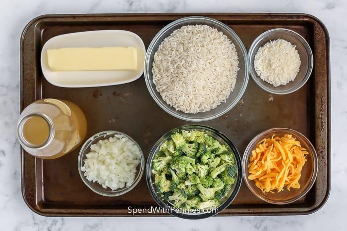 broccoli rice ingredients