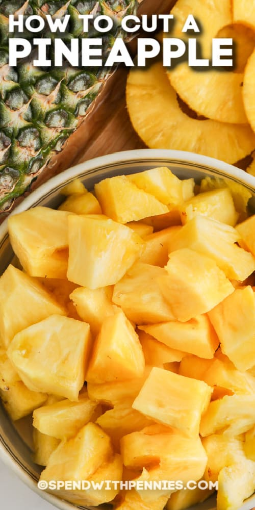 pineapple chunks with text