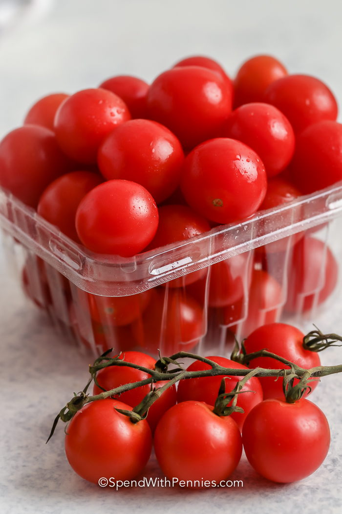 Cherry Tomatoes and Grape Tomatoes